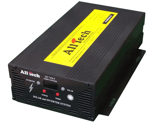 태양광 독립형 Bultt-in Solar Inverter 500W AT-SB500T 24V 10A